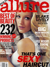 Allure Oct 2010 cover