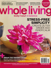Whole Living Oct 2010 cover