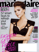 Marie Claire Nov 2010 cover