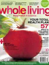 Whole Living Sep 2010 cover