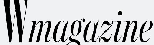 W Magazine logo