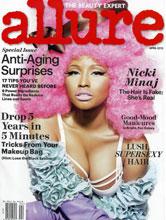 Allure April 2012 cover