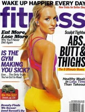 Fitness magazine cover