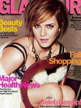 Glamour Oct 2012 cover