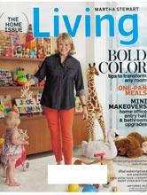 Martha Stewart Living cover