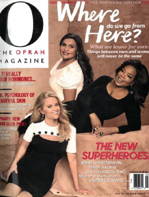 Oprah magazine cover