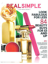 Real Simple Mar 2012 cover