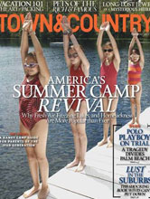 Town & Country July 2012 cover