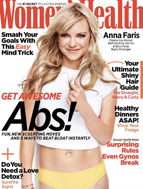 Women's Health cover