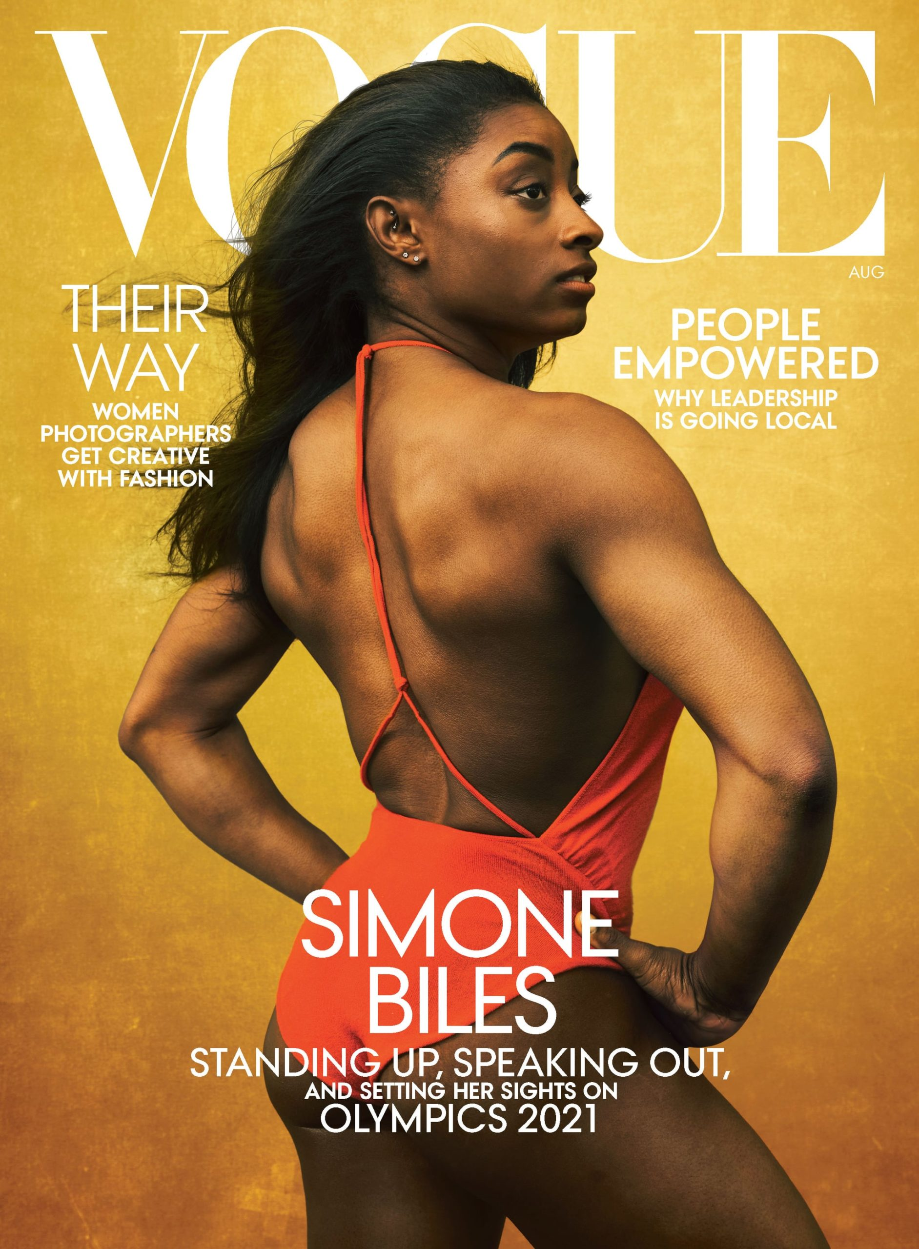 Vogue Simone Biles cover